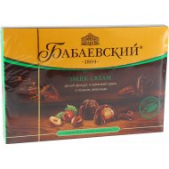 Конфеты шоколадные «Бабаевский» целый фундук и ореховый крем, 200 г.
