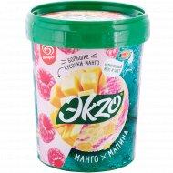 Мороженое «Ekzo» манго-малина, 850 мл.