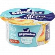 Биотворог «Верховье» персик, 4.2 %, 140 г