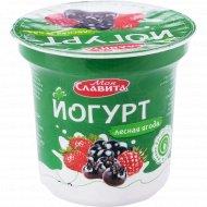 Йогурт «Моя Славита» лесная ягода, 2%, 140 г