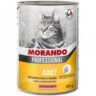 Консерва для кошек «Morando» кусочки в соусе с курицей, 405 г