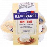 Сыр с плесенью «Ile de France» Мини Бри 50%, 125 г.