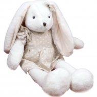 Мягкая игрушка «Зайчик в платье» 27 см.