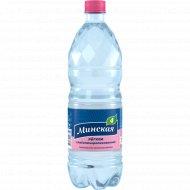 Вода минеральная газированная «Минская-4» лёгкая 2 л.