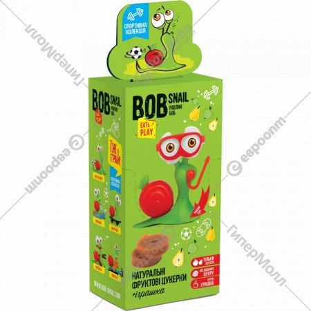 Конфеты «Bob Snail» яблоко-груша + игрушка, 20 г