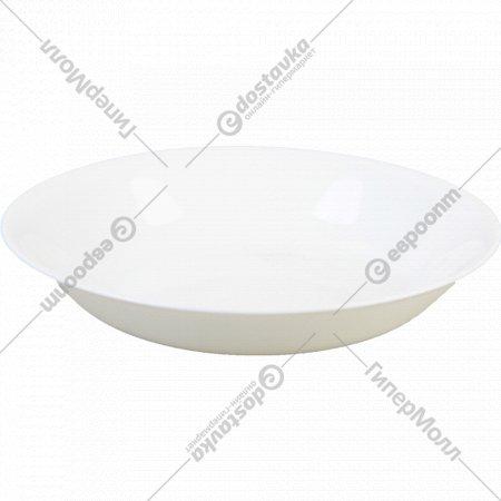 Тарелка из стекла 22 см.