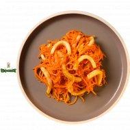 Салат по-корейски из кальмаров 1/300.