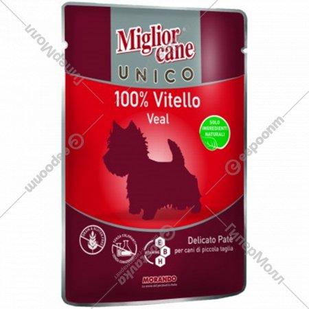 Паучи «Mc unico veal 100%» для собак, с телятиной, 100 г.