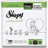 Подгузники детские «Sleepy Natural» Jumbo Pack Junior, размер 5, 11-18 кг, 24 шт