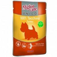 Паучи «Mc unico turkey 100%» для собак, с индейкой, 100 г.