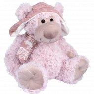 Мягкая игрушка «Мишка в шапке с шарфом» 25 см.