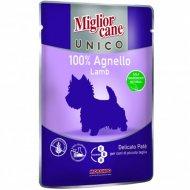 Паучи «Mc unico lamb 100%» для собак, с ягненком, 100 г.