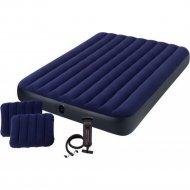 Набор «Intex» Квин 64765, матрас, 2 подушки, насос ручной