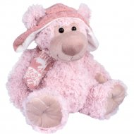 Мягкая игрушка «Мишка в шапке с шарфом» 32 см.
