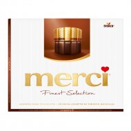 Шоколад «Merci» ассорти из тёмного шоколада 250 г.