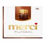 Шоколад «Merci» ассорти из тёмного шоколада, 250 г.