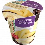 Десерт творожный «Венский завтрак» банан-шоколад 4%, 150 г.