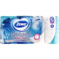 Бумага туалетная «Zewa» Delux, трехслойная, 8 рулонов.