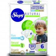 Подгузники детские «Sleepy Natural» Jumbo Pack X Large, 20 шт.
