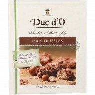 Конфеты «Duc d'О» бельгийские трюфели, 200 г.