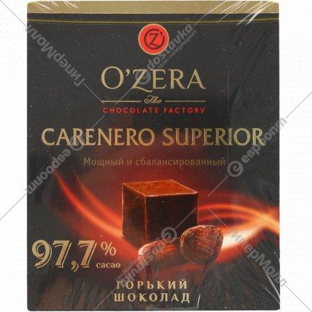 Шоколад горький «O'zera» мощный и сбалансированный, 97.7%, 90 г.