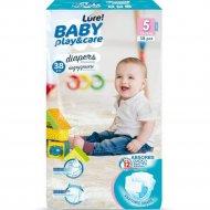 Подгузники одноразовые для детей «LURE» 11-25 кг, 38 шт.