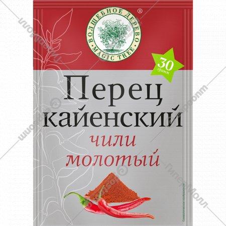 Перец «Волшебное дерево» кайенский, чили молотый, 30 г.