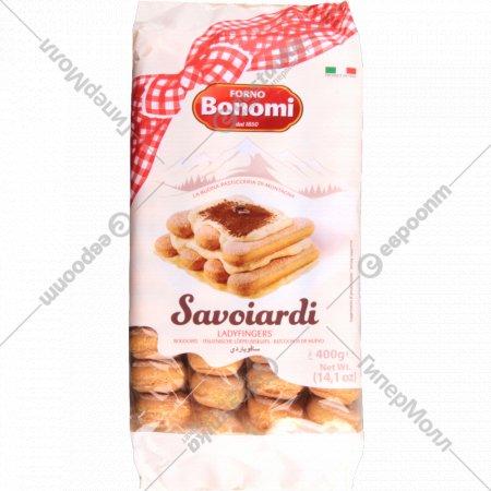Печенье сахарное «Bonomi Savoiardi» для тирамису 400 г.