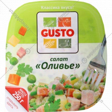 Салат «Gusto» оливье 250 г.