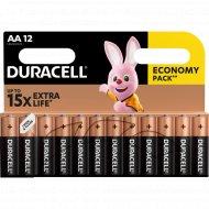 Элементы питания «Duracell» LR6/MN1500, типоразмер АА, 12 шт
