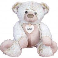 Мягкая игрушка «Мишка с сердцем» 27 см, ST8361C.