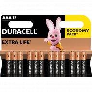 Комплект батареек «Duracell» ААА, 451362, 12 шт