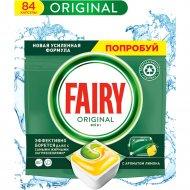 Капсулы для посудомоечных машин «Fairy» Original. All in One, 84 шт