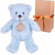 Мягкая игрушка «Мишка Томас» 22 см, в коробке, ST8292A.