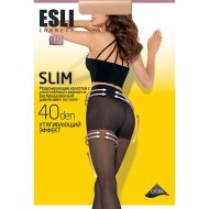 Колготки женские «Esli» slim, 40 den, visone, 3.