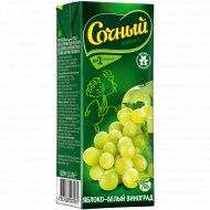 Нектар «Сочный фрукт» яблочно-виноградный, 200 мл.