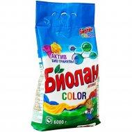Порошок стиральный «Биолан» color, 6 кг.