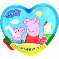 Мармелад «Peppa Pig» фруктовый вкус, с подарком в наборе, 10 г.