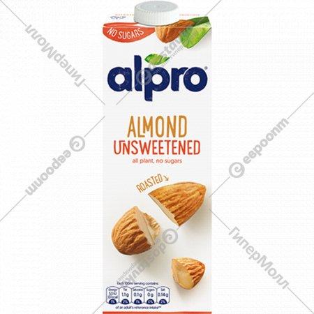 Напиток миндальный «Alpro» без сахара, 1 л.