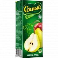 Нектар «Сочный фрукт» яблочно-грушевый, 200 мл.