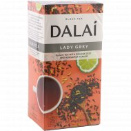 Чай черный «Dalai» с ароматом бергамота и цедрой апельсина, 25х1.8 г.
