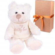 Мягкая игрушка «Мишка Чарли» 20 см, в коробке, ST8081A.