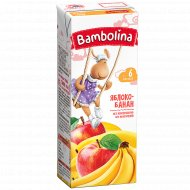 Нектар «Bambolina» яблоко-банан, 0.2 л.