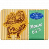 Масло сладкосливочное «Молочный мир» несоленое, 68%, 180 г