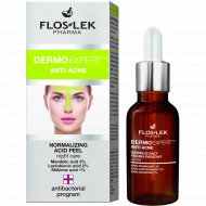 Кислотный пилинг для лица «Floslek» Dermo Expert, Anti Acne, 30 мл