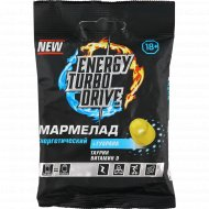 Мармелад «Turbo Energy Drive» гуарана-таурин-витамин D, 50 г.