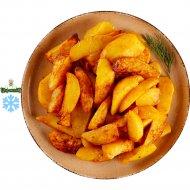 Картофельные дольки, запеченные замороженные, 1/600.