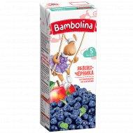 Нектар «Bambolina» яблоко-черника, 0.2 л.