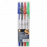 Набор шариковых ручек «Sponsor» 4 цвета.