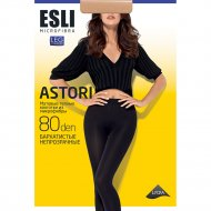Колготки женские «Esli» slim, 80 den, marrone, 2.